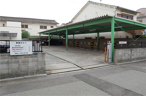専用駐車場の写真